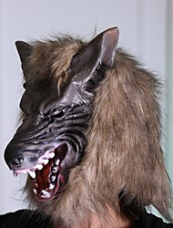 cheap -Halloween Costumes for Horror Party Wolf Wolf Head Scary Masks Party Terror Animal Cosplay Toys