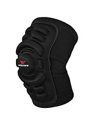 cheap -Running Gaiters / Knee Brace for Ski / Snowboard / Skating / Motobike / Motorcycle Unisex Shockproof / Protection / Easy dressing Mountain Bike / Motorcycle Terylene / Silicon / EVA 1 Piece Black