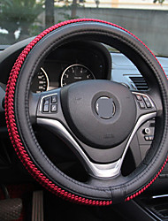 cheap -Car steering wheel cover Skidproof Auto Steering- wheel Cover Anti-Slip Universal Embossing Car-styling summer season set of ice silk slip