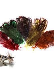 cheap -100 pcs Fly Tying Materials Feather Feathers Sea Fishing Fly Fishing Freshwater Fishing