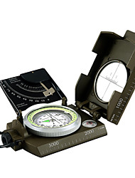 cheap -Compasses Outdoor Portable Compass Metal Outdoor Exercise Camping / Hiking / Caving Traveling Army Green