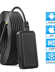 cheap -5.5mm Inspection Camera 5.0MP Wireless Borescope WiFi Snake Camera with 6 LED for iPhone Samsung Android Tablet