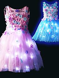 cheap -Ballet LED Layered Tutu Bubble Skirt Under Skirt Women's Tulle Costume Blushing Pink / Blue Vintage Cosplay Party Halloween Princess / Dress / Dress