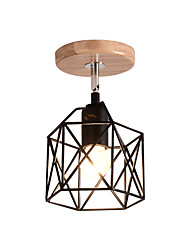 cheap -1-Light 13 cm Adorable Flush Mount Lights Metal Geometrical Painted Finishes Modern Generic