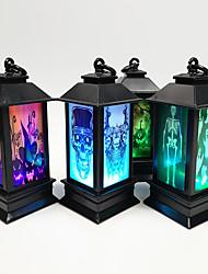 cheap -Halloween Accessories Lighthouse Party Supplies Bar KTV Decorative Accessories LED Night Light Luminous Bat Skeleton Light Pumpkin