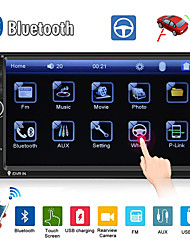 abordables -swm 7018b 7 pouces 2 din autre voiture lecteur mp5 / voiture lecteur mp4 / lecteur multimédia à écran tactile / mp3 / bluetooth intégré pour support rca / tv universel / support bluetooth mpeg / avi