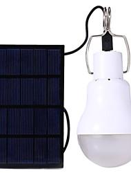 Недорогие -1 шт. 15 Вт солнечная зарядка лампочка / освещение палатки / кемпинг аварийный свет лампы / новый дизайн белый 5 В наружное освещение 1 светодиодные шарики