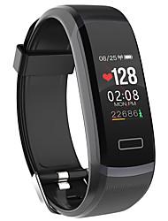abordables -Support gt101 montre intelligente bt fitness tracker informer / moniteur de fréquence cardiaque sport étanche smartwatch compatible samsung / android / iphone