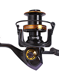 cheap -Fishing Reel Spinning Reel / Sea Fishing Reel / Surf Fishing Reels 4.1:1 Gear Ratio+13 Ball Bearings Hand Orientation Exchangable Sea Fishing / Spinning / Freshwater Fishing