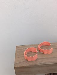 abordables -Femme Boucles d'Oreille Tropical Joie Des boucles d'oreilles Bijoux Orange / Jaune / Vert Pour Cadeau Quotidien Festival 1 paire