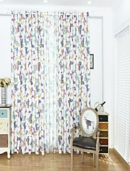 cheap -Animal Design Blackout One Panel Curtain Living Room   Curtains