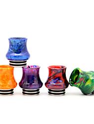 cheap -YUHETEC 810 Vase Resin Stainless Steel Drip Tip for TFV8 Big Baby/TFV12 Prince/Griffin 25/ijust 3/ELLO Duro/Pharaoh Mini/ammit 25/Creed RTA Atomizer