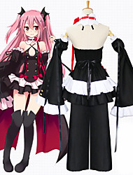 cheap -Inspired by Seraph of the End Cosplay Anime Cosplay Costumes Japanese Dresses Skirt For Women's
