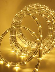 Недорогие -10 м Гибкие светодиодные ленты 360 светодиоды SMD3528 1 комплект Тёплый белый / Белый / Красный Для вечеринок / Декоративная / Праздник 85-265 V