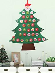 cheap -Christmas Ornaments Christmas Tree Non-woven Christmas tree Cartoon Christmas Decoration