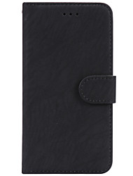 cheap -Case For Apple iPhone X / iPhone 8 Plus / iPhone 7 Plus Card Holder / Magnetic / Auto Sleep / Wake Up Full Body Cases Solid Colored PU Leather / TPU