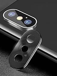 Недорогие -металлический объектив камеры для Apple Iphone X / XS / XR / XS Макс