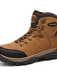 cheap -Men's Running Shoes Sweat wicking Comfortable Running Jogging Autumn / Fall Winter Black Brown