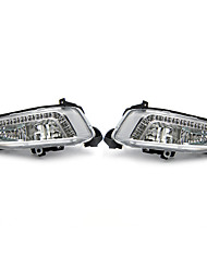 cheap -2Pcs LED Daytime Running Fog Lights Lamps DRL 6500K For Hyundai IX45 Santa Fe 2013-2015