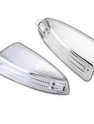 Недорогие -2 шт. Боковое зеркало поворотник фары лампы пара для Mercedes-Benz мл класса с-класса w204