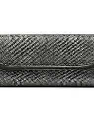cheap -Women's Pattern / Print Satin Evening Bag Snakeskin Gold / Gray