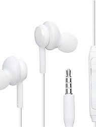 cheap -20Pcs S8 3.5mm In-ear with Microphone Wire Headset for Hauwei Xiaomi Samsung Galaxy S10 S9 S8 S7 Headphone Smartphone