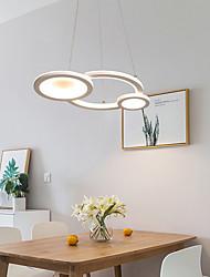 cheap -LED® 3-Light Circle Sputnik Chandelier Ambient Light Painted Finishes Metal LED 110-120V 220-240V Warm White Cold White