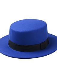 Недорогие -Муж. Жен. Активный Классический Симпатичные Стиль Панама Шляпа от солнца Хлопок,Однотонный Все сезоны Черный Винный Пурпурный