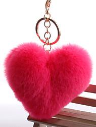 Недорогие -Брелок Сердце корейский Милая Мода Модные кольца Бижутерия Черный / Белый / Пурпурный Назначение Повседневные Свидание