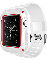 cheap -Watch Band for Apple Watch Series 3 Apple Watch Series 2 Apple Watch Series 1 Apple Sport Band Silicone Wrist Strap
