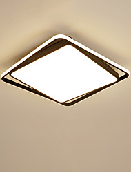 cheap -2-Light Modern Rectangles LED Ceiling Light Fashional Square Ceiling Light Bedroom Study Light