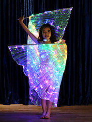 cheap -Dance Accessories Isis Wings Girls' Performance Terylene LED