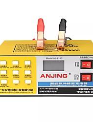 Недорогие -12v / 24v жк-дисплей зарядное устройство умный импульсный ремонт сухой мокрый умный
