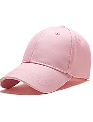 cheap -Kids Unisex Solid Colored Hats & Caps Blushing Pink One-Size