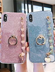 cheap -Case For Samsung Applicable to S10/S10E/S10 Plus Glitter Patch S9/S9 Plus/S8/S8 Plus Love Bracelet S7/S7 Edge/S6/S6 Edge/S6 Edge Plus Soft Anti-fall Mobile Phone Case