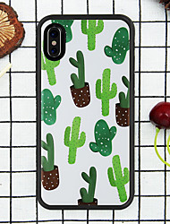 cheap -Beautiful Leaves and Flowers  Case for  iPhone Xs Max  /8 /7 Plus /  6S / 6 PLUS / XR / XS  /X /  8/  7/   6  /6S