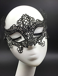 cheap -Halloween Mask Sexy Lace Mask Party Novelty Lace Horror Women's