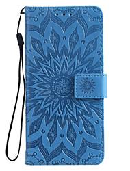 Недорогие -чехол для xiaomi mi cc9 cc9e чехол для телефона искусственная кожа материал с тиснением дурман цветы шаблон сплошной цвет чехол для телефона