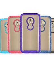 Недорогие -Кейс для Назначение Motorola Moto G6 Play / Moto G7 Play / Moto G7 Power Защита от удара / Защита от пыли Кейс на заднюю панель Прозрачный ТПУ / ПК