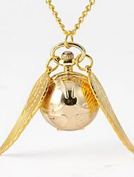 Недорогие -Муж. Карманные часы Кварцевый Старинный Творчество Новый дизайн Повседневные часы Аналого-цифровые На каждый день - Золотой