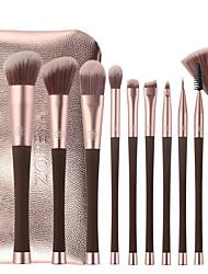 cheap -Professional Makeup Brushes 10pcs Soft New Design Cool Comfy Plastic for Makeup Brush