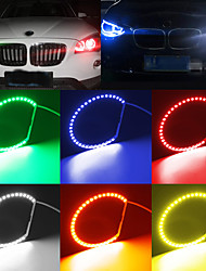 cheap -AMBOTHER 4PCS LED Angel Eyes Lights RGB Halo Ring with Remote Control for BMW E36 E38 E39 E46 M3