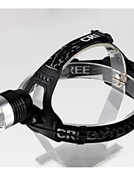 cheap -Headlamps Fishing Light - Cold White Aluminum Alloy Rechargeable Camping / Hiking / Caving Everyday Use Cycling / Bike