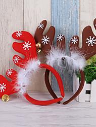 cheap -2 Pcs Christmas Headband For Children Adults Deer Ears Christmas Party