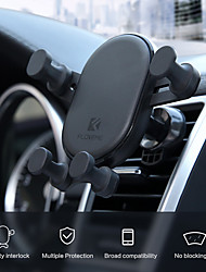 cheap -Car Mount Stand Holder Gravity Car Bracket Automatically Locks The Air Outlet Mobile Phone Bracket 360  Rotating Mobile Phone Navigation Bracket Induction For 4.7-6.5 Inch Smart Phone Bracket
