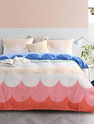 cheap -Duvet Cover Sets Damask / Cartoon Polyester / Polyamide Reactive Print / Printed 3 PieceBedding Sets