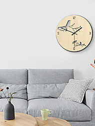 cheap -M.Sparkling Hot selling household hollow wall clock creative decoration mute Wooden Bird Clock