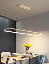 cheap -1-Light 22 cm Chandelier Aluminum Silica gel Island Painted Finishes LED Modern 110-120V 220-240V