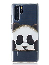 cheap -Case For Huawei Huawei P30 / Huawei P30 Pro / Huawei P30 Lite Pattern Back Cover Panda TPU