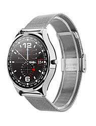 Недорогие -W18 SmartWatch из нержавеющей стали BT Поддержка фитнес-трекер уведомить / пульсометр спортивные умные часы для телефонов Samsung / Iphone / Android